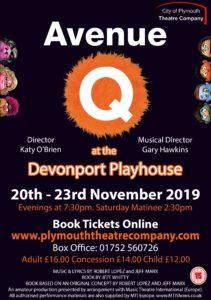 Avenue Q, City Of Plymouth Theatre Company