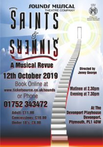 Sinners & Saints, Sounds Musical Theatre Company
