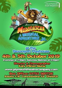 Madagascar, City of Plymouth Youth Theatre Company