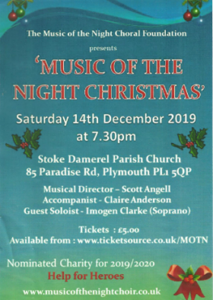 Music Of The Night, Christmas